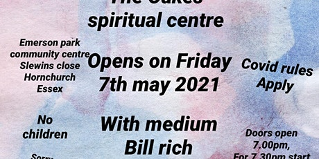 Evening of clairvoyance with bill rich tickets