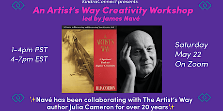 An Artist's Way Creativity Workshop Led by James Navé tickets