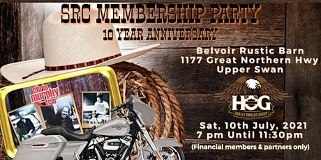 Swan River Chapter  2021 Membership & 10 Year Anniversary Party tickets
