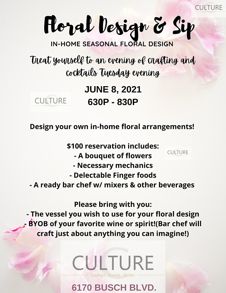 Floral Create and Sip image