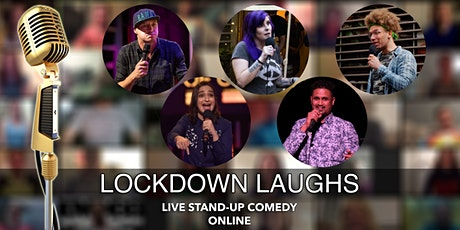 Lockdown Laughs - Live English Stand Up Comedy (Online) tickets