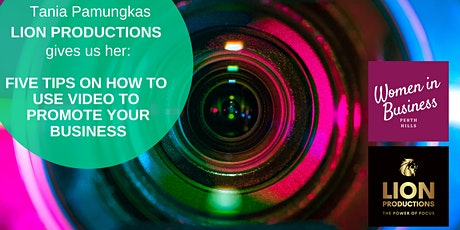Five Tips:  How to Promote your Business with Video tickets