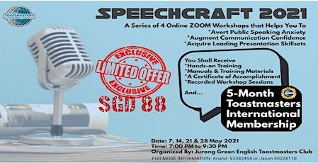 Newbie in Public Speaking? Join us - Speechcraft is for you! tickets