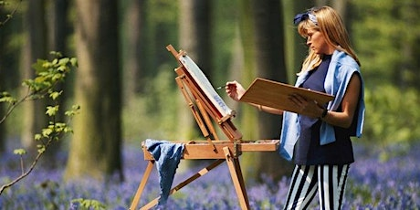 Outdoor painting (plein air ) in Hyde Park with picnic and wine. tickets