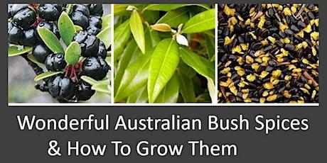 Wonderful Australian Bush Spices & How to Grow Them- Part 3  Spice Series tickets