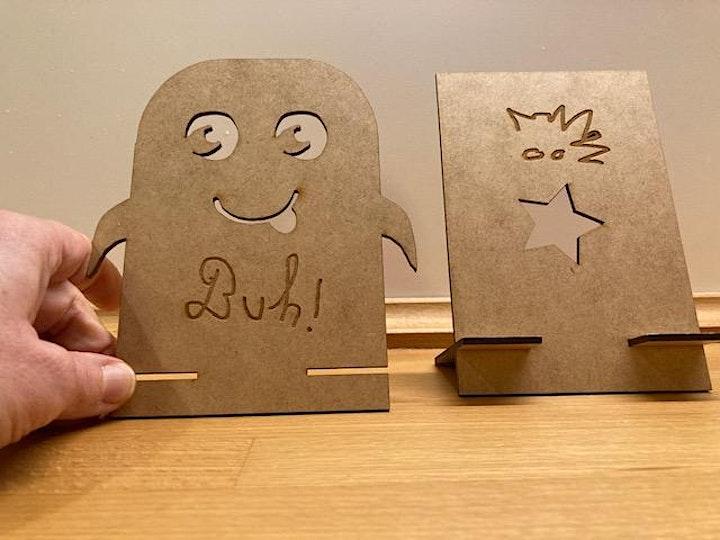 FabLabKids: LabGirls - gestalte Deinen Handy- oder Tablet-Halter: Bild