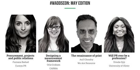 WaddsCon: May edition tickets