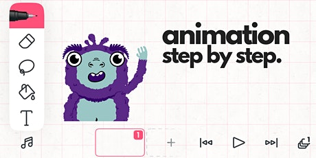 Young Person Animation Course : Animation Step By Step tickets