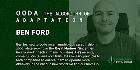 OODA the algorithm of adaptability tickets