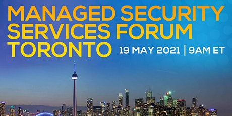 Managed Security Services Forum Toronto tickets