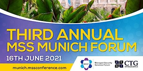 Third Annual MSS Munich Forum tickets