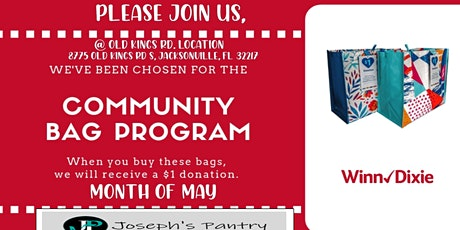 Winn Dixie Community Bag Program tickets
