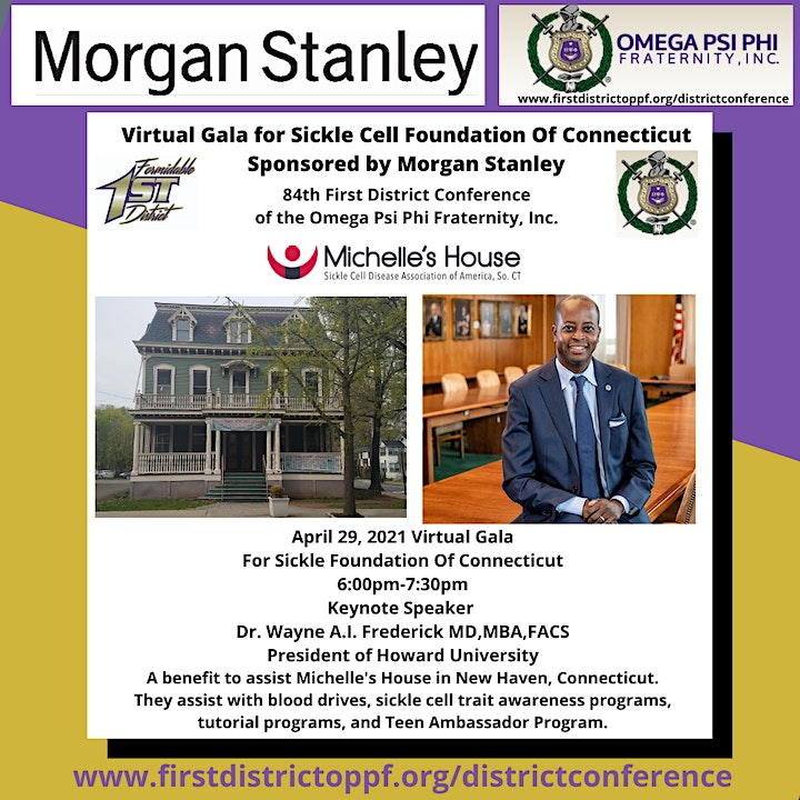 Attendee  Registration for  Virtual Gala For Sickle Cell Foundation of CT image