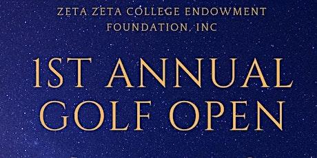 1st Annual Zeta Zeta College Endowment Foundation Golf Open tickets