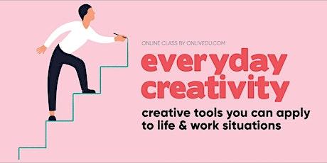 Everyday Creativity - online class tickets