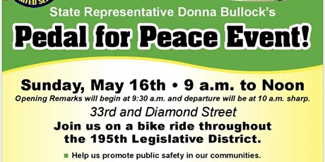 Pedal For Peace tickets
