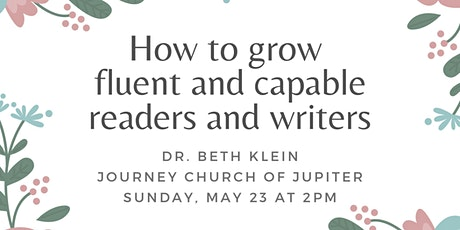 How to grow fluent and capable readers and writers tickets