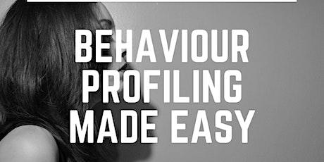 Behaviour Profiling Made Easy tickets