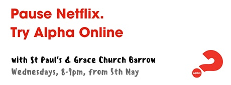 Alpha Online with St Paul's & Grace Church tickets