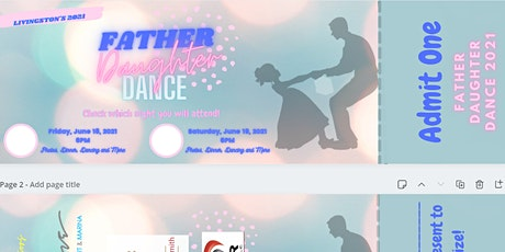 Livingston Father Daughter Dance 2021 tickets