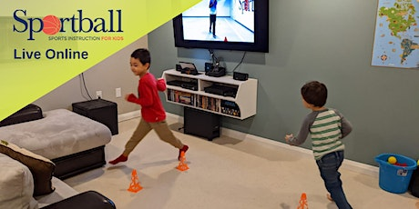 FitKids with Coach Darryl @4PM EST (6-9yrs) tickets