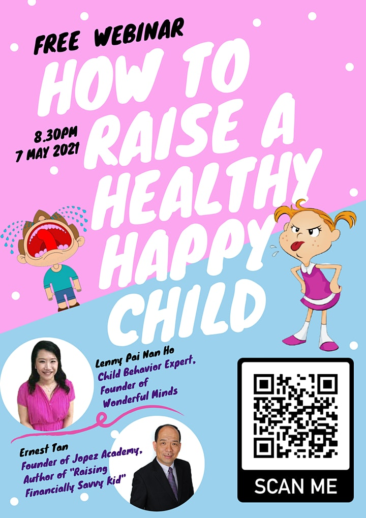 HOW TO RAISE A HEALTHY HAPPY CHILD image
