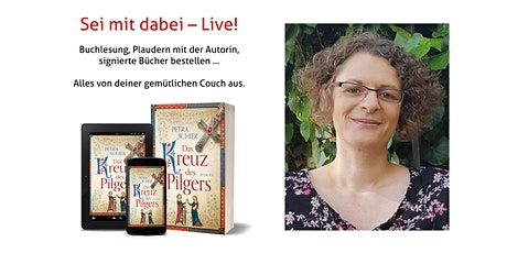 """Petra Schier liest auf Zoom aus """"Das Kreuz des Pilgers"""" Tickets"""
