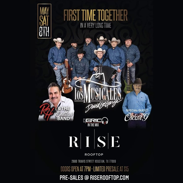 Los Musicales @ RISE Rooftop - Saturday May 8th image