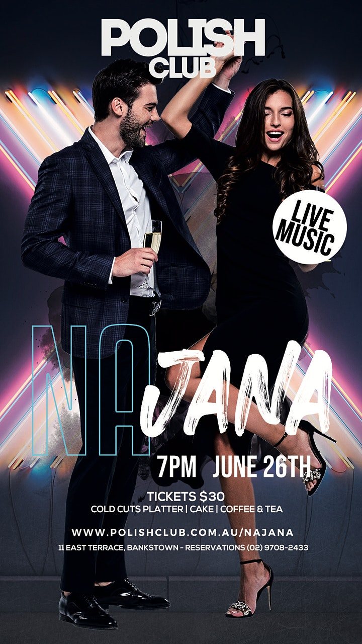 NA JANA PARTY | JUNE 26 @ The Polish Club image