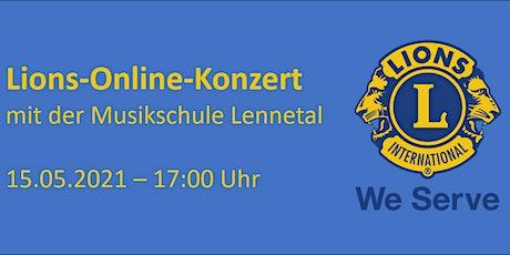 Lions-Online-Konzert mit der Musikschule Lennetal Tickets