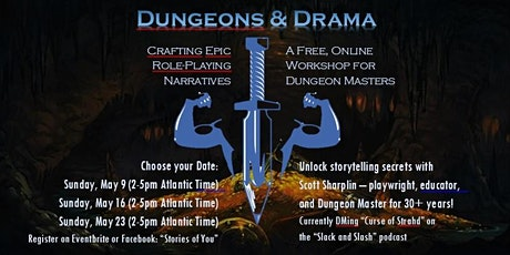 Dungeons and Drama: Crafting EPIC Role-Playing Narratives tickets