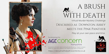 A Brush with Death - A 1920's five day  virtual murder mystery challenge tickets