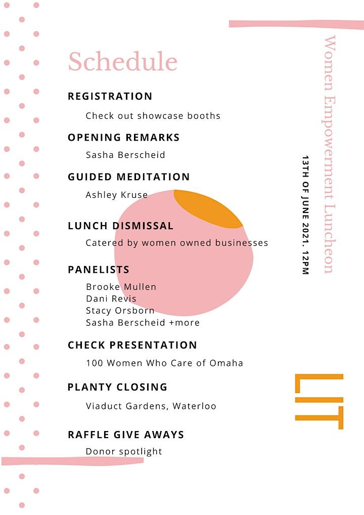 LIT Luncheon- Female Empowerment Movement image