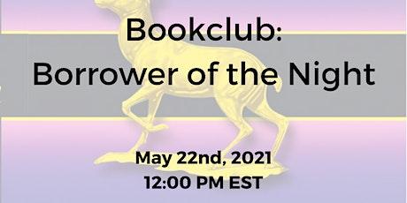 Book club: Borrower of the Night by Elizabeth Peters tickets