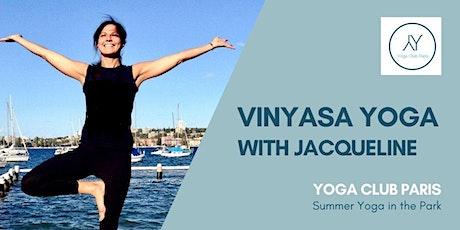 Outdoor Vinyasa Yoga in Parc Monceau tickets