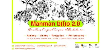 Manman B(l)o 2.0 | Ateliers lecture à voix haute billets