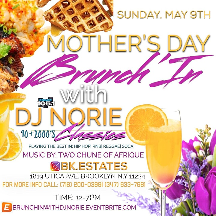 MOTHER'S DAY BRUNCH'IN WITH DJ NORIE image