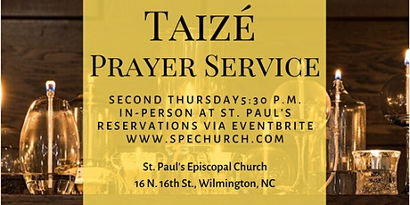 Taize Prayer Service tickets