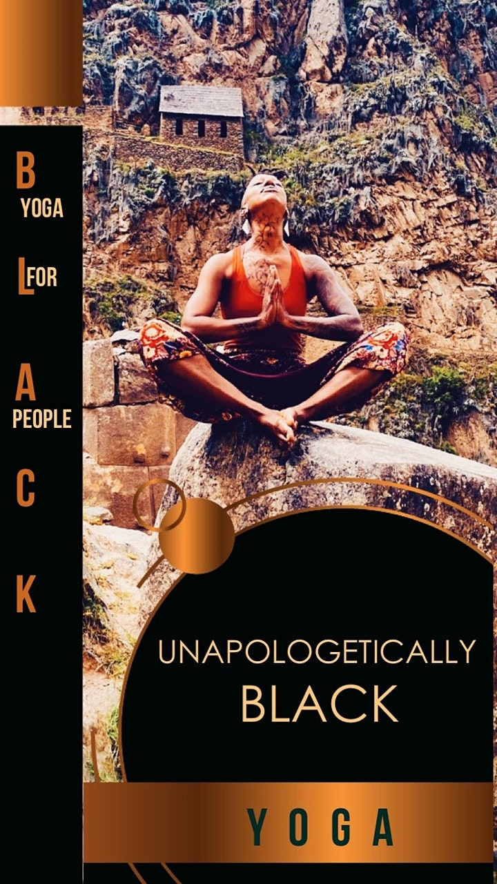 Live UNAPOLOGETICALLY BLACK YOGA for Black People in the park image