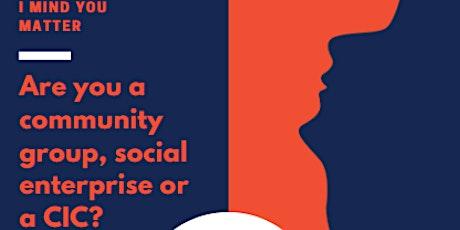 East MCR & Sur Areas: Community Groups, Social Enterprise & CIC Networking tickets