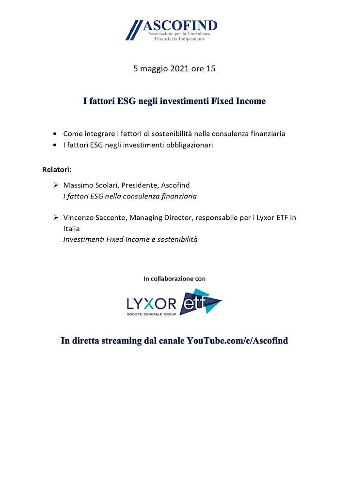 Immagine I fattori ESG negli investimenti Fixed Income