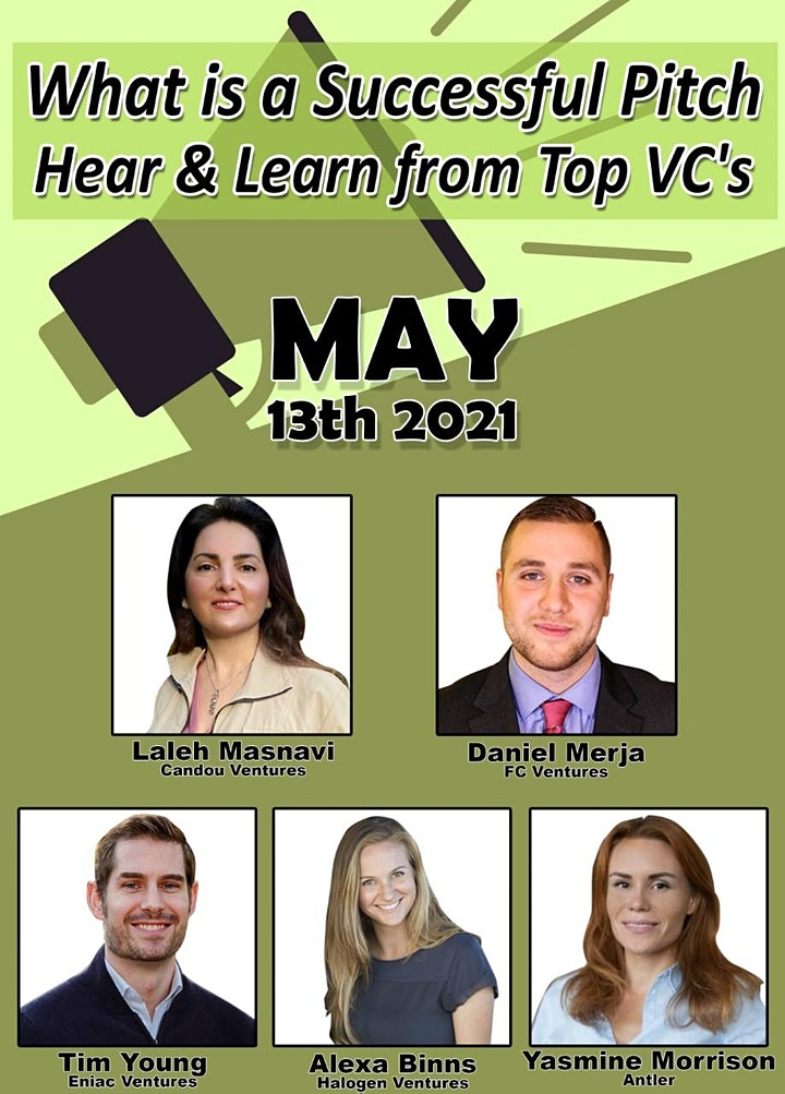 What is a Successful Pitch - Hear & Learn from Top VC's image