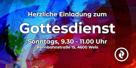Gottesdienst der MF Wels am 23.5.21 Tickets