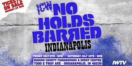 ICW No Holds Barred Vol.? tickets