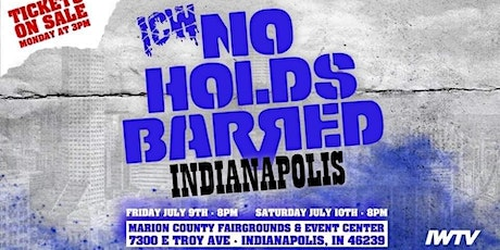 ICW No Holds Barred Vol.?? tickets