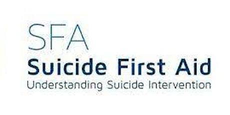 Understanding Suicide Interventions (MOD Community welcome ) tickets