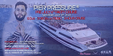 San Diego Pre-July 4th Pier Pressure Mega Yacht Party boletos