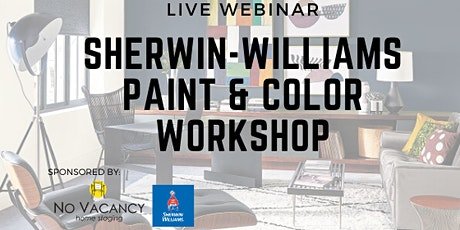 Paint & Color Talk with Sherwin-Williams LIVE Webinar billets