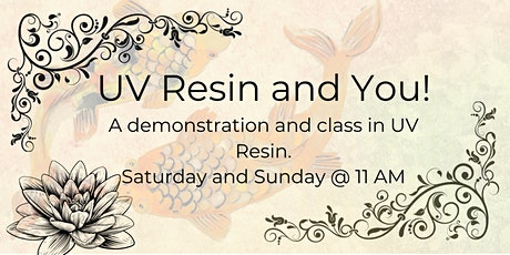 UV Resin and You! tickets
