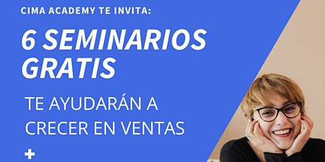 SEMINARIOS GRATUITOS CIMA ACADEMY boletos